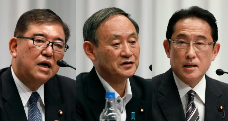 Japan ruling party picks successor to PM Abe
