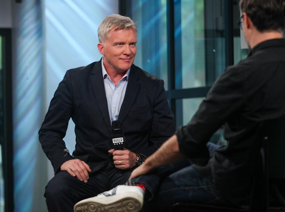 """Anthony Michael Hall attends Build Series to discuss his new film """"War Machine"""" on May 30, 2017. (Photo by Steve Zak Photography/FilmMagic)"""