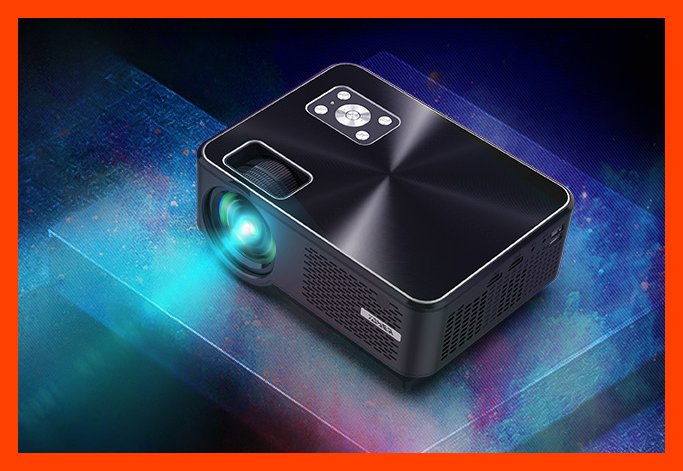 Save 63 percent on the Yaber Y60 Portable Projector. (Photo: Amazon)