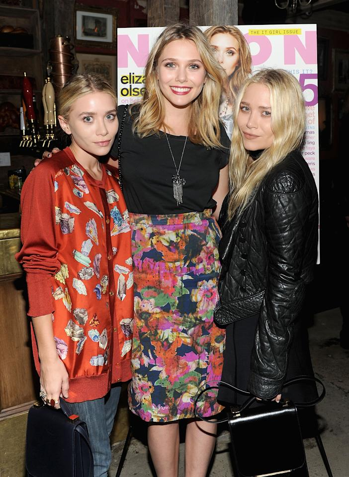 "Elizabeth (middle) is the younger sister of the celebrity Olsen twins. Her Sundance breakout role in ""Martha Marcy May Marlene"" bagged her several nominations. She also appeared in a movie with Ted Mosby (aka as Josh Radnor in real life) last year. Stylish and quirky just like her famed sisters, Lizzie is definitely a celebrity in her own right."