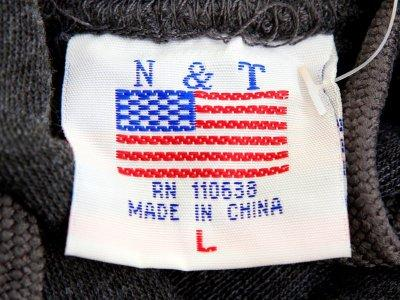 FILE PHOTO: The label of a Washington D.C. sweatshirt bears a U.S. flag but says