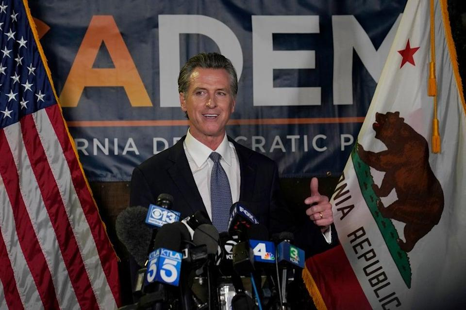 California Recall Newsom (Copyright 2021 The Associated Press. All rights reserved)