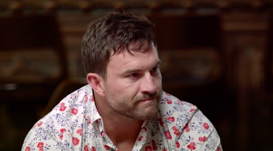 The face of another guilty cheater. Photo: Channel Nine