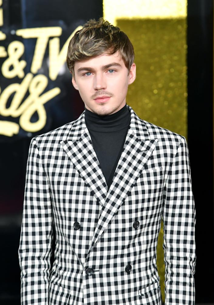 Actor Miles Heizer attends the 2017 MTV Movie And TV Awards at The Shrine Auditorium on May 7, 2017 in Los Angeles, California.