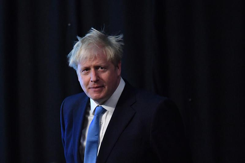 Boris Johnson at the Queen Elizabeth II Centre in London after being announced as the new Conservative party leader and next Prime Minister. (Photo by Dominic Lipinski/PA Images via Getty Images)
