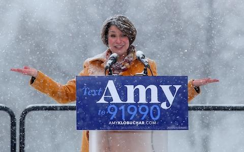 U.S. Senator Amy Klobuchar declares her candidacy for the 2020 Democratic presidential nomination in Minneapolis, Minnesota - Credit: Reuters