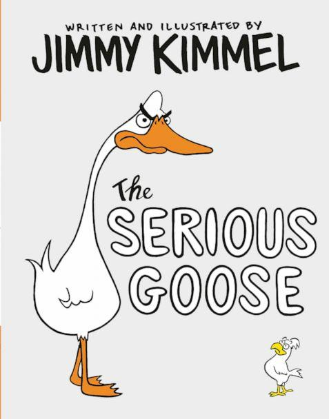 PHOTO: Jimmy Kimmel wrote, illustrated and hand-lettered his new book 'The Serious Goose.' (Random House Children's Books)