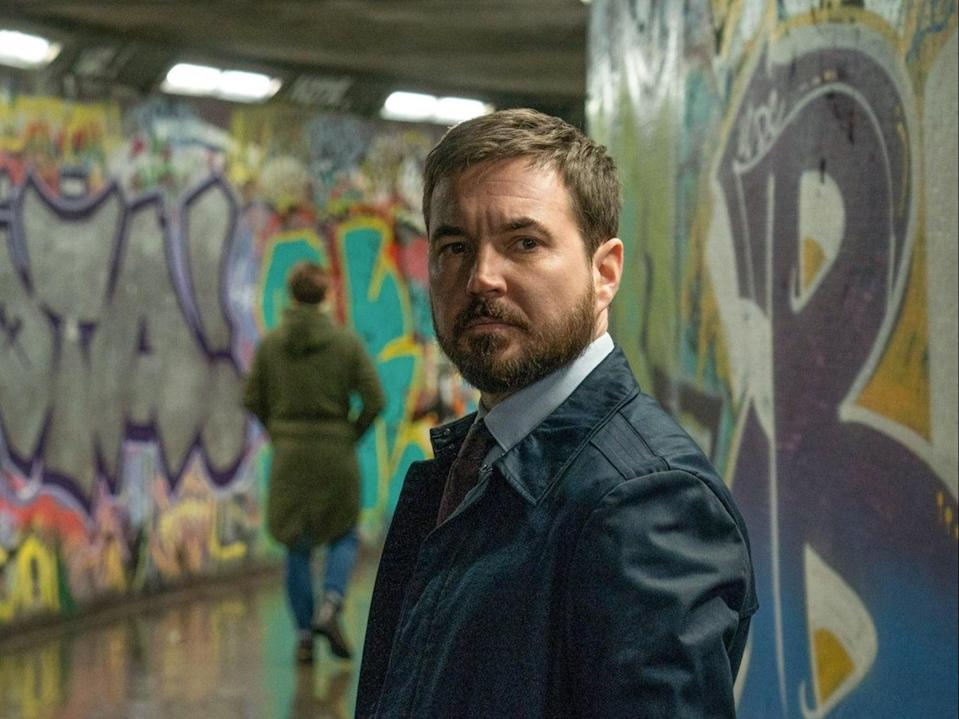 Martin Compston as Steve Arnott in Line of Duty's sixth season, aired recently on BBC One (BBC/World Productions/Chris Barr)