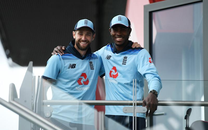 Chris Woakes and Jofra Archer - Jofra Archer and Chris Woakes produce match-winning spell to show why they are England's aces in the pack - GETTY IMAGES