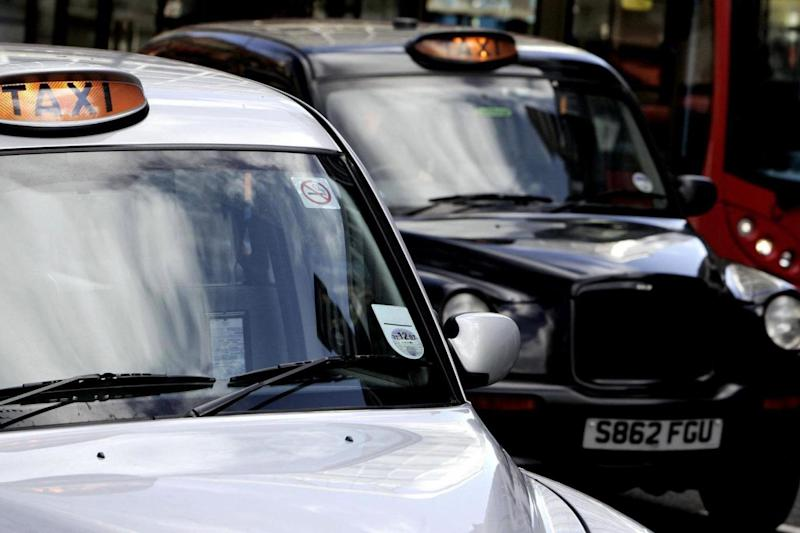 Some black cab drivers have been accused of posting online abuse (PA Wire/PA Images)