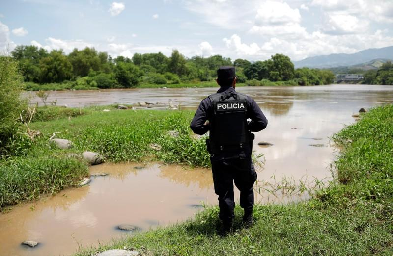 FILE PHOTO: Launch of the new border patrol in La Hachadura