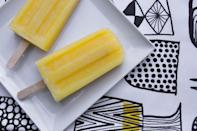 "<p>Rum? Gooood. Pineapple? Goooood. Coconut? Goooood. What's not to like. Recipe <a href=""http://www.shutterbean.com/2012/pina-colada-ice-pops/"" rel=""nofollow noopener"" target=""_blank"" data-ylk=""slk:here"" class=""link rapid-noclick-resp"">here</a>. </p>"