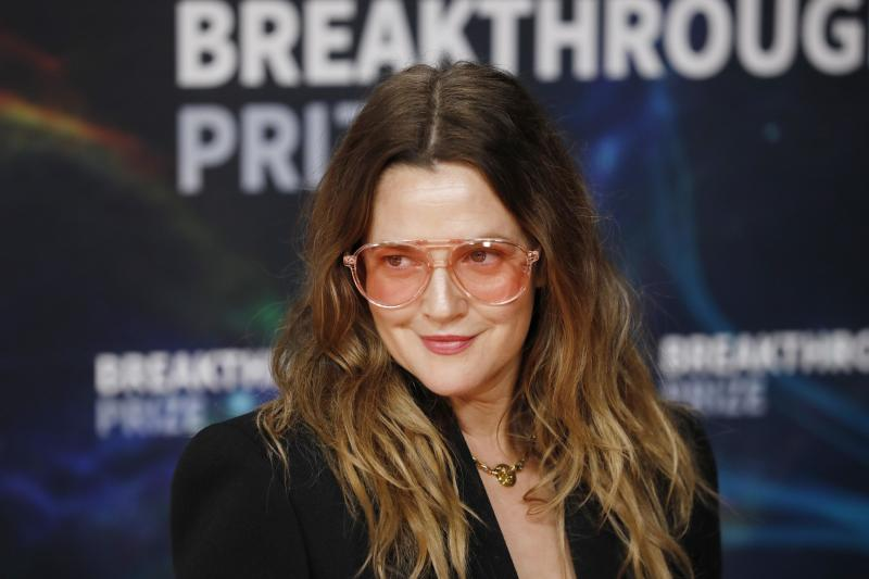 Drew Barrymore attends the 2020 Breakthrough Prize Ceremony at NASA Ames Research Center on November 03, 2019. (Photo by Liu Guanguan/China News Service/VCG via Getty Images)