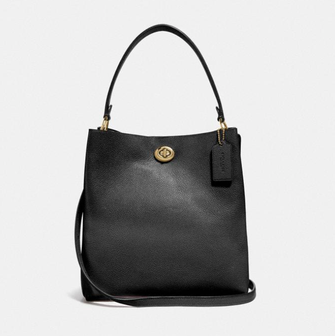 The classic Coach silhouette can be converted into a crossbody bag, making it a perfect day bag. (Photo: Coach)