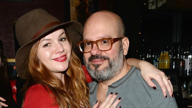 efe905eb09b Amber Tamblyn and David Cross Share First Photo of Daughter Marlow -- See  Her Cute Face!