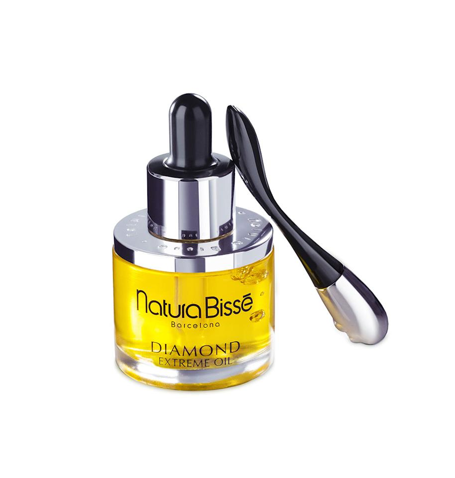 "<p>This overnight repair oil promises to renew elasticity and diminish wrinkles, and it delivers. After using for a few weeks, my skin was luminous in the morning. It seemed to reverse the daily environmental stressors on my skin. <br /><br /><a rel=""nofollow"" href=""https://www.naturabisse.com/en/psproduct/215-diamond-extreme-oil"">Buy it</a> </p>"