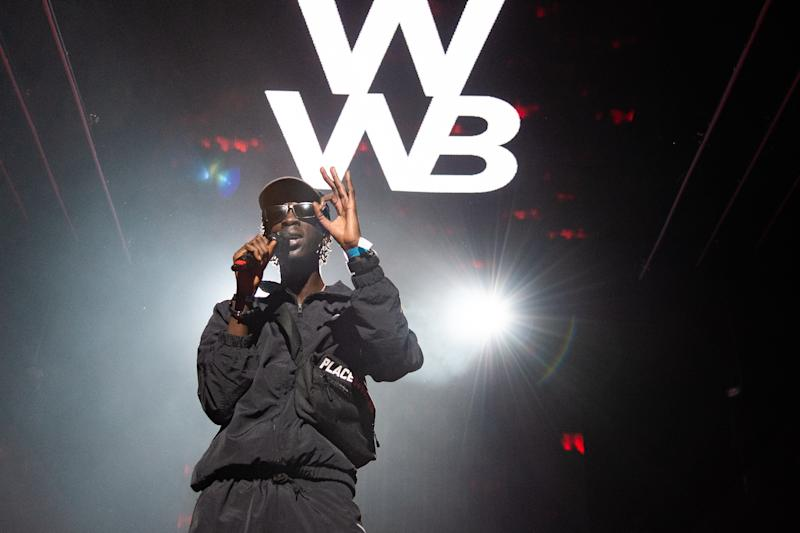 LONDON, ENGLAND - NOVEMBER 28: Unknown T performs during Spotify Presents: Who We Be Live at Alexandra Palace on November 28, 2018 in London, England. (Photo by Joseph Okpako/WireImage)