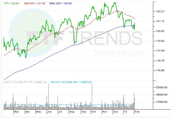 Tips Etf With Negative Yield Sees Outflow