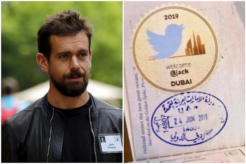 'Marhaba Dubai': Twitter Chief Jack Dorsey Receives Special Stamp on His Passport in UAE