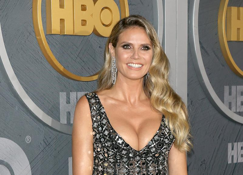 LOS ANGELES, CALIFORNIA - SEPTEMBER 22: Heidi Klum attends the HBO's Post Emmy Awards reception held at The Pacific Design Center on September 22, 2019 in Los Angeles, California. (Photo by Michael Tran/FilmMagic )