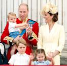 """<p>Prince Louis was a waving machine up on the Buckingham Palace balcony <a href=""""https://www.townandcountrymag.com/society/tradition/a27838778/prince-louis-royal-wave-buckingham-palace-balcony-2019-photos/"""" rel=""""nofollow noopener"""" target=""""_blank"""" data-ylk=""""slk:during Trooping the Colour"""" class=""""link rapid-noclick-resp"""">during Trooping the Colour</a>. </p>"""