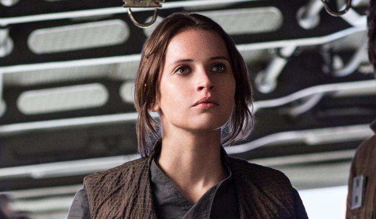 Felicity Jones in Rogue One - Credit: Lucasfilm