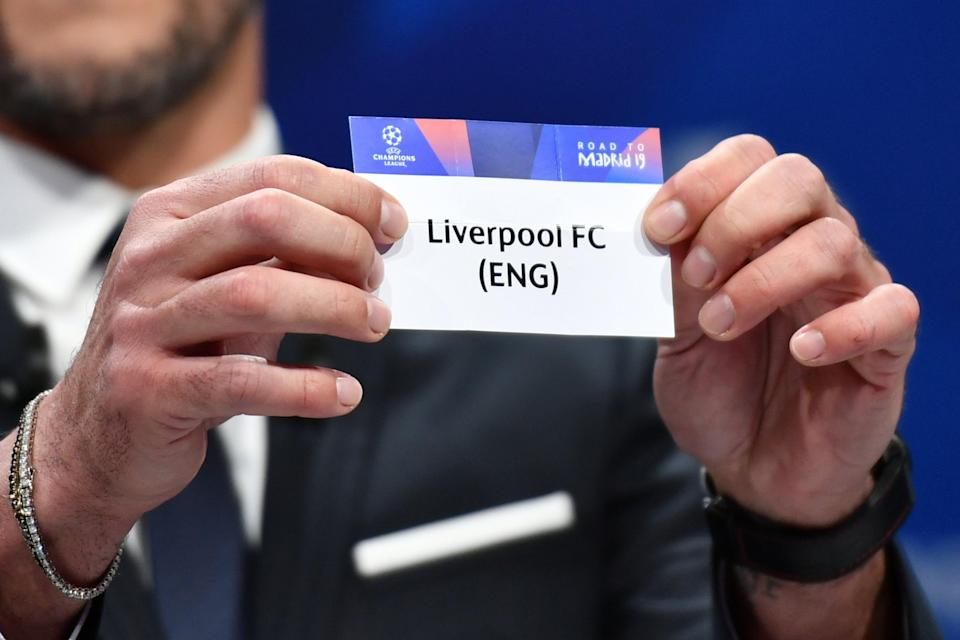 Liverpool are among the 32 clubs who will be in the Champions League group stage draw (AFP via Getty)