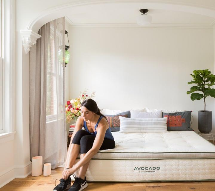 """<strong><a href=""""https://www.avocadogreenmattress.com/"""" rel=""""nofollow noopener"""" target=""""_blank"""" data-ylk=""""slk:Avocado Green Mattress"""" class=""""link rapid-noclick-resp""""><h3>Avocado Green Mattress</h3></a></strong><br><strong>Sale:</strong> An extra $175 off Green and Vegan organic mattresses; two free pillows with any mattress purchase; $150 off a reclaimed wood bed frame with mattress purchase<br><br><strong>Dates:</strong> Now - October 14<br><br><strong>Promo Code:</strong> ORGANIC175; 2FREEPILLOWS; BED150<br><br><strong>Avocado</strong> GREEN MATTRESS, $, available at <a href=""""https://www.avocadogreenmattress.com/shop/avocado-mattress/"""" rel=""""nofollow noopener"""" target=""""_blank"""" data-ylk=""""slk:Avocado"""" class=""""link rapid-noclick-resp"""">Avocado</a>"""