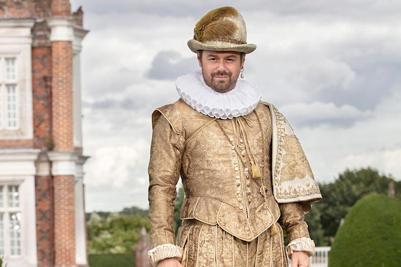 Danny's fascinating episode led to his own show, Danny Dyer's Right Royal Family (BBC/Stephen Perry)