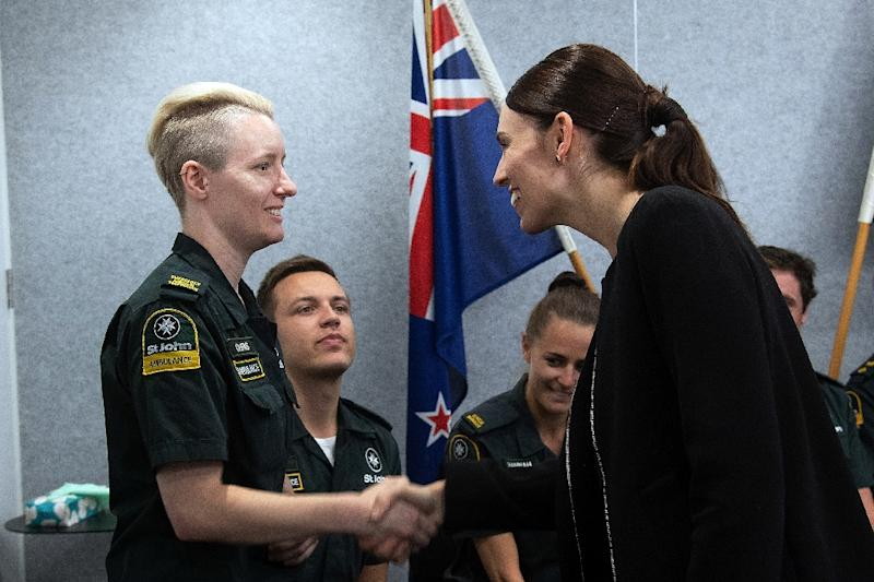 New Zealand Prime Minister Jacinda Ardern has called for a global response to counter the threat posed by social media (AFP Photo/Marty MELVILLE)
