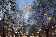 """<p>Chelsea's <a rel=""""nofollow noopener"""" href=""""http://www.dukeofyorksquare.com/whats-on/news/christmas-lights-switch-on-save-the-date"""" target=""""_blank"""" data-ylk=""""slk:Duke of York Square"""" class=""""link rapid-noclick-resp"""">Duke of York Square</a> will host the area's official festive light switch-on on November 18 at 5pm. Unlike most other locations, this one's on a Saturday so the whole family can attend. Children can meet Father Christmas as well as his reindeer with entertainment stretching across to Sloane Square too. </p>"""