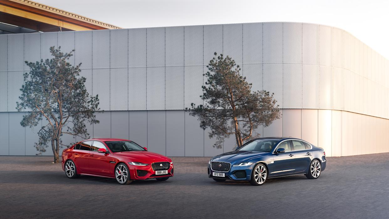 New Jaguar XE and XF