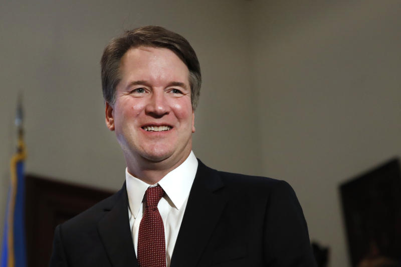 Trump to withhold 100,000 pages of Kavanaugh's White House records