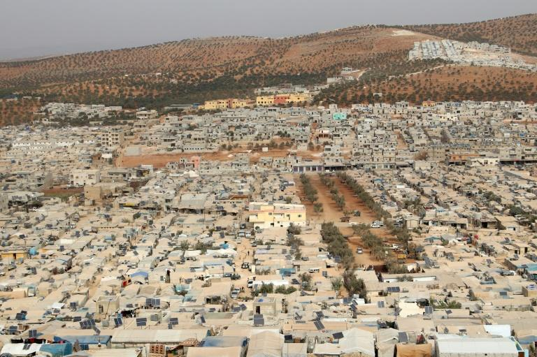 Cramped living conditions in camps for the displaced in northwest Syria, along with rudimentary sanitary conditions, are feeding into fears that Covid-19 could spread rampantly