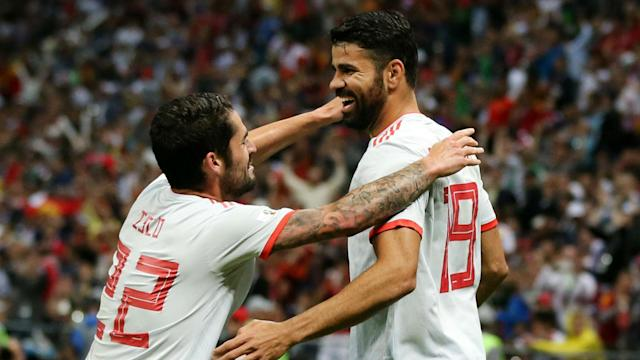 The Atletico Madrid star scored the only goal as La Roja beat Iran, but it was his overall performance as opposed to his goal which pleased his coach.