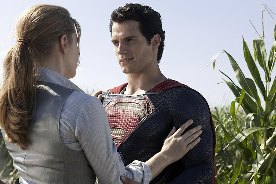 """Amy Adams and Henry Cavill in Warner Bros. Pictures' """"Man of Steel"""" - 2013"""