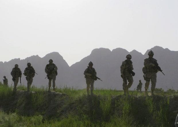 Interpreters helped Canadian troops communicate with Afghan civilians and anticipate threats during their mission in Afghanistan. (Colin Perkel/The Canadian Press - image credit)