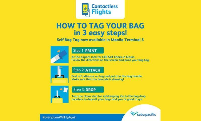 Cebu Pacific rolls out self-bag tagging process
