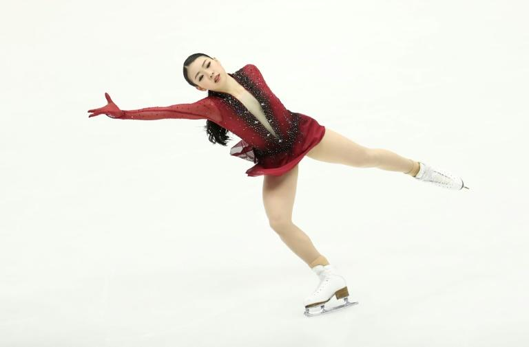 Japan's defending champion Rika Kihira finished in second place at the Ladies Short Program at the Grand Prix of Figure Skating 2019/2020 NHK Trophy in Sapporo