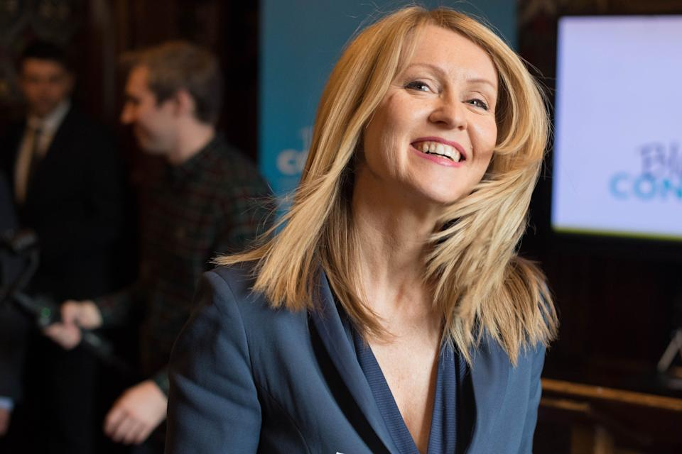 "Tory leadership candidate Esther McVey said Mr Khan had been ""childish"" (Picture: PA)"