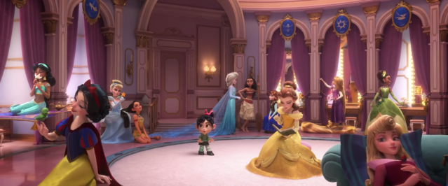 The secret life of Disney princesses is revealed. (Image: Disney)