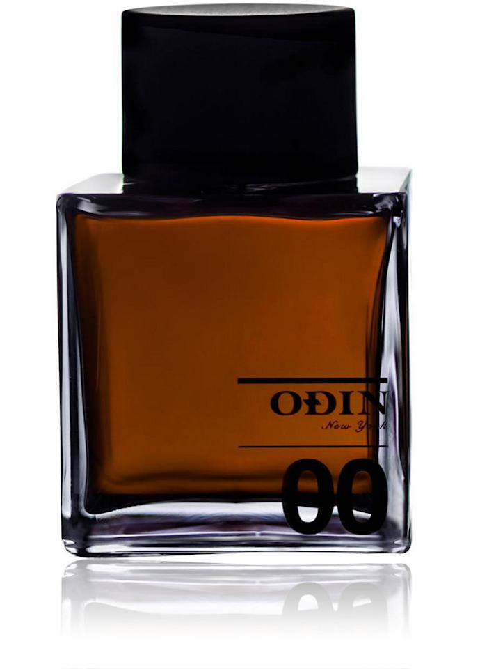 """<p>The latest launch from the cult, New York-based menswear retailer puts the spotlight on oud, a richly fragrant wood resin that's been prized for centuries by Middle Eastern and Asian cultures. Here, the powerful note gets softened with a hint of fruit (cassis berries) and creamy florals (rose and jasmine). <b><a href=""""http://www.barneys.com/odin-new-york-formula-00-auriel-504386445.html"""">Odin 00 Auriel</a> ($185)</b></p>"""