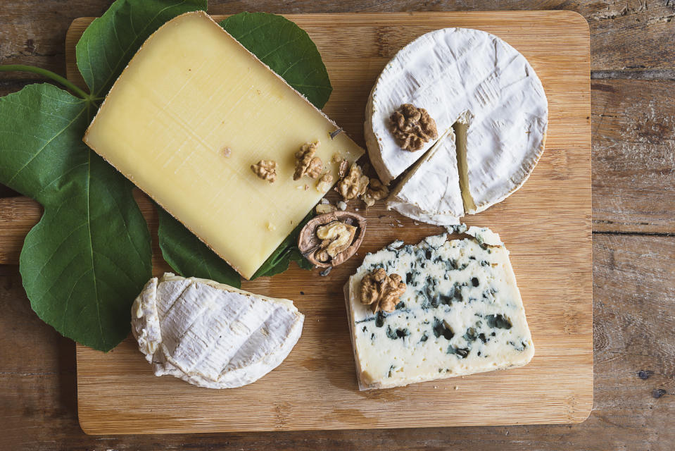 Consumers are craving cheese this Valentine's Day, new data shows