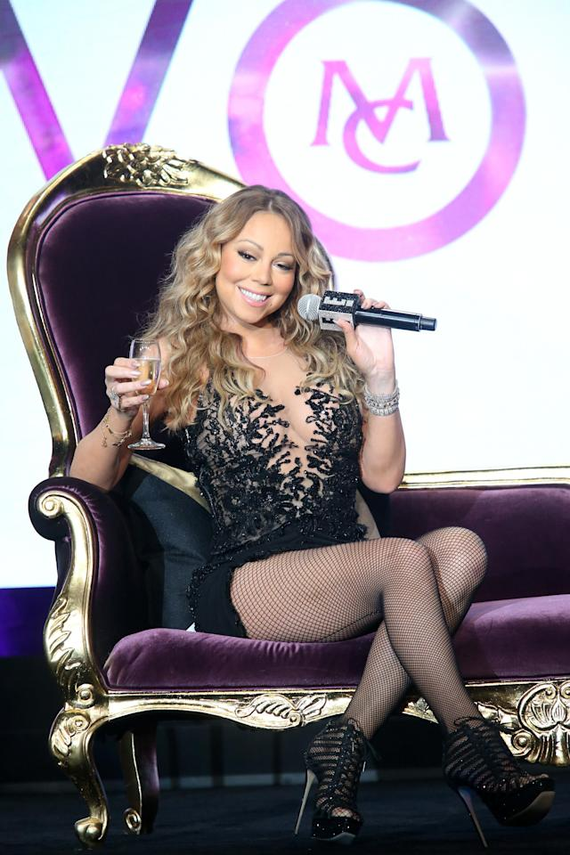 Mariah Carey's personal assistant has no personal life. (Photo: Getty Images)