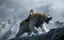<p>While it sadly failed to launch the expected trilogy of 'His Dark Materials' movies, the 2007 adaptation of Philip Pullman's 'Northern Lights' did a great job bringing its fearsome armoured polar bear to life, with a little help from Sir Ian McKellen on voice duties. (Credit: Warner Bros) </p>