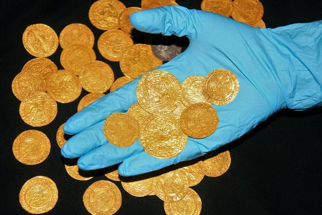 Tudor coins found in the New Forest