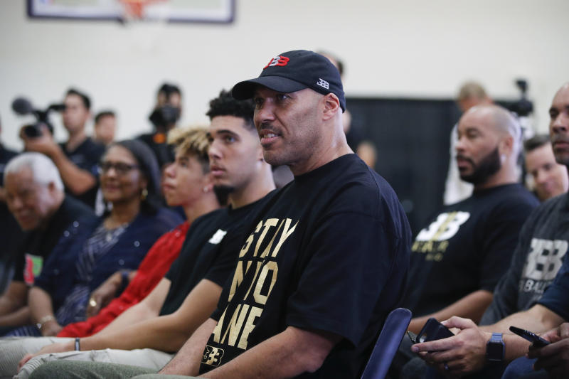 Los Angeles Lakers to work out LiAngelo Ball