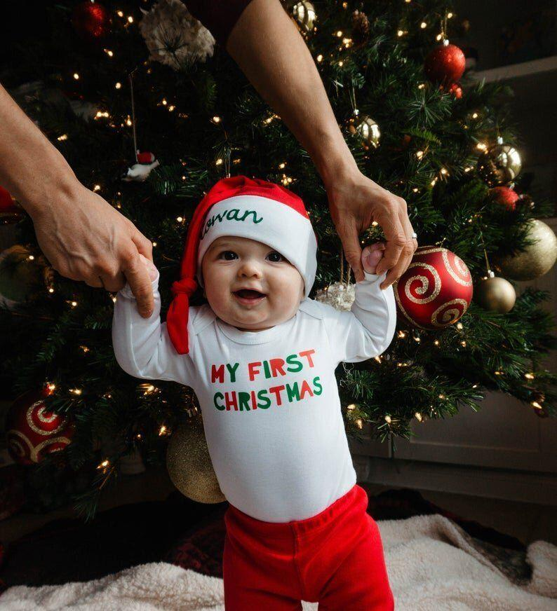 Baby's First Christmas Outfit (Photo: Etsy)
