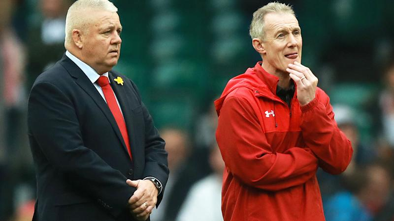 Warren Gatland and Rob Howley, pictured here during the Six Nations in February.