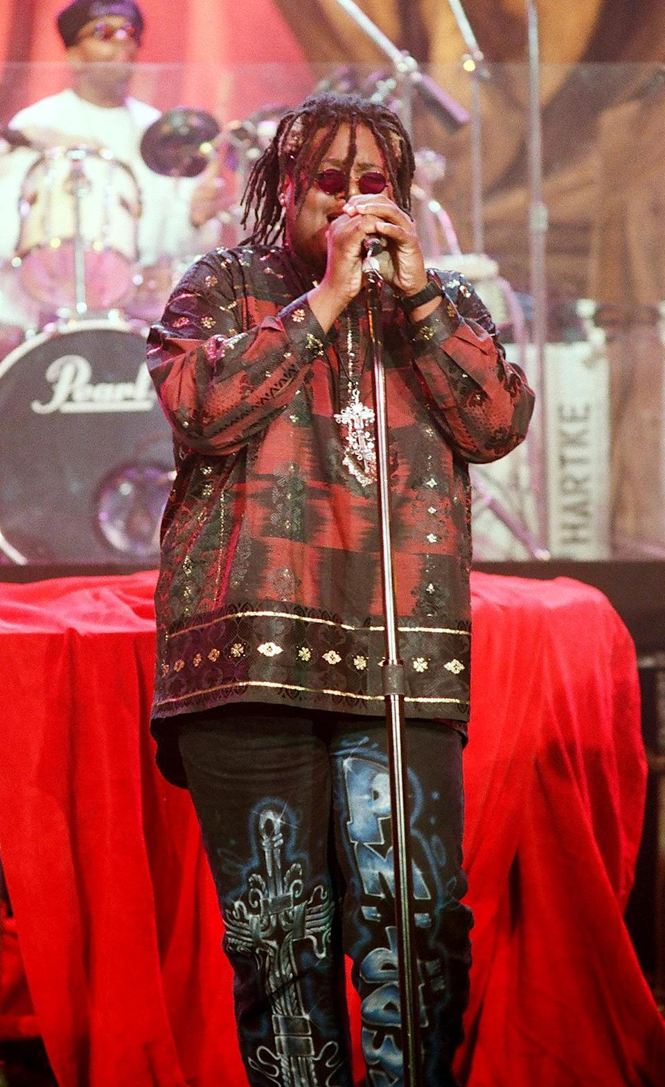 Attrell Stephen Cordes, Jr., aka Prince Be, was the lead singer of pioneering hip-hop group P.M. Dawn. He died from renal failure, a complication of his diabetes, on June 17. He was 46. (Photo: Getty Images)